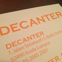 Photo taken at Decanter by Pac on 3/5/2013