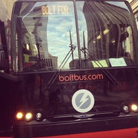 Photo taken at BoltBus Midtown Stop by Ayesha M. on 3/3/2013