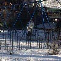 Photo taken at Van Vorhees Playground by Barbara W. on 3/8/2015