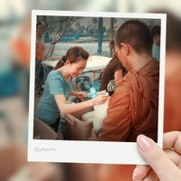 Photo taken at พระบรมสารีริกธาตุ วัดพระศรีมหาธาติ by Maienter9 on 4/28/2012