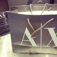 Photo taken at Armani Exchange by Jose G. on 9/23/2013