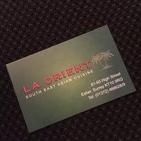 Photo taken at La Orient by John T. on 10/8/2016