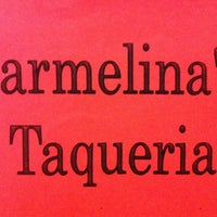 Photo taken at Carmelina's Taqueria by Steven W. on 4/5/2013