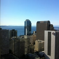 Photo taken at Hilton Seattle by Spunkyryan on 10/3/2012