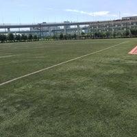 Photo taken at かえつ有明中学・高等学校 by Hio on 9/21/2014