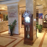 Photo taken at Al Bustan Hotel by Isaac J. on 12/31/2013