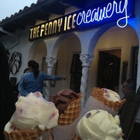 Photo taken at The Penny Ice Creamery by Danny S. on 8/19/2013