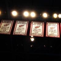 Photo taken at Joe Louis Arena by Steve C. on 4/1/2013