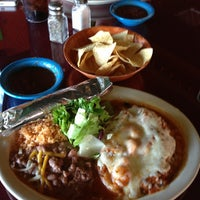 Photo taken at Chilero's Mexican Grill by David O. on 9/3/2013