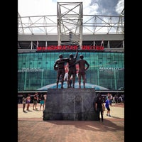 Photo taken at Old Trafford by Ian L. on 7/20/2013