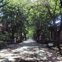 Photo taken at Locust Walk by Colin W. on 5/27/2013