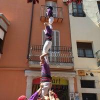 Photo taken at Plaça de l'Esglèsia by Bryan F. on 5/3/2016