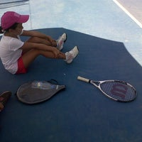 Photo taken at Hillside City Club Tennis Court by Belguzar Seren T. on 7/29/2013