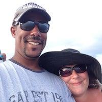 Photo taken at Avon Fishing Pier by Michael R. on 8/19/2014