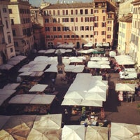 Photo taken at Campo de' Fiori by Marc-James D. on 11/13/2012