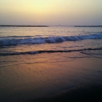 Photo taken at Playa de Torviscas by Lupe on 8/10/2013