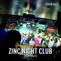 Photo taken at Zinc Night Club by Tazrin S. on 5/5/2013