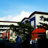 Photo taken at SMK Kartini Baloi by Lestari H. on 9/23/2013
