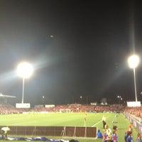 Photo taken at Pirtek Stadium by Alaister L. on 4/12/2013