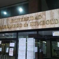 Photo taken at Universidad Alejandro de Humboldt by Erwin B. on 9/12/2013