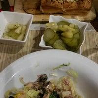 Photo taken at Kare Pizza by Pınar Ş. on 1/20/2014
