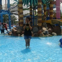 Photo taken at Citra Garden Water Park by Bathin G. on 12/15/2013