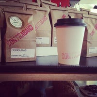 Photo taken at Contraband Coffeebar by Jessica Y. on 1/26/2013