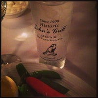 Photo taken at John's Grill by Emily W. on 4/25/2013