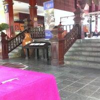 Photo taken at Teluk Dalam Beach Resort by Boboy D. on 3/28/2014