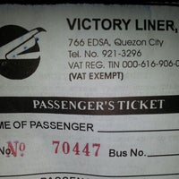 Photo taken at Victory Liner by Apple P. on 4/8/2014