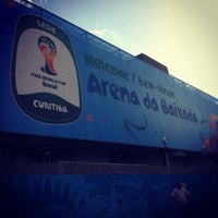 Photo taken at Arena da Baixada by José R. on 6/12/2014