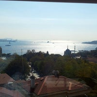Photo taken at Hilton ParkSA Istanbul by Baris A. on 10/25/2013