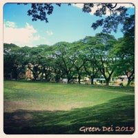 Photo taken at Sunken Garden by www.deiville.com D. on 4/3/2013
