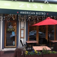 Photo taken at Zest American Bistro by Armie on 1/14/2013
