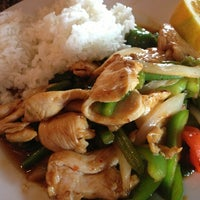 Photo taken at Thai Chef and Noodle Fusion by Jonathan F. on 7/20/2013