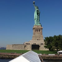 Photo taken at Liberty Island by Júlio R. on 7/30/2013