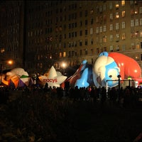 Photo taken at Macy's Parade Balloon Inflation by Bob K. on 11/22/2012