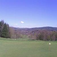Photo taken at Ypsilon Golf Resort Liberec by Martin L. on 4/17/2014