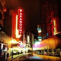 Photo taken at Paramount Center by Matthew G. on 4/19/2013