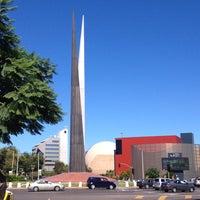 Photo taken at Glorieta Del Monumento a la Independencia (Las Tijeras) by ANABEL C. on 9/28/2013