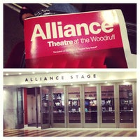 Photo taken at Alliance Theatre by Kristine W. on 9/18/2013