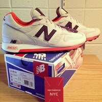 Photo taken at New Balance NYC Flagship Store by Witchaphun P. on 9/27/2013