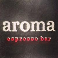 Photo taken at Aroma Espresso Bar by Cheryl K. on 4/17/2013
