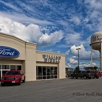 Photo taken at WILLIAM MIZELL FORD by jd c. on 12/24/2013