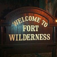 Photo taken at Disney's Fort Wilderness Resort & Campground by Michael M. on 12/21/2012