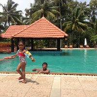 Photo taken at Poovar Island Resort by Aditi D. on 8/13/2013