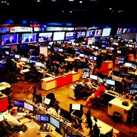 Photo taken at CNN Newsroom by One Fly C. on 5/19/2014