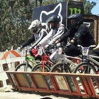 Photo taken at Catcus Park BMX by Nanc D. on 8/27/2013