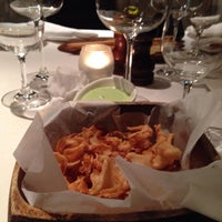 Photo taken at Babbo by Memo D. on 9/27/2014