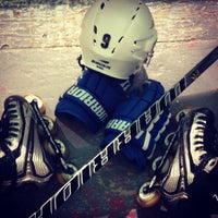 Photo taken at Water City Roller Hockey by Alex G. on 12/24/2012